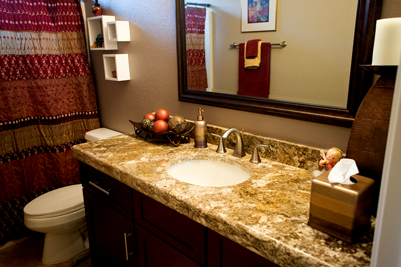 Venetian Gold Granite Bathroom Countertop