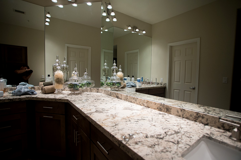 Wrap Around Granite Countertop