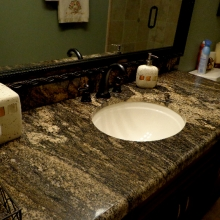 Dark Granite Countertop