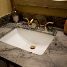Square Granite Bathroom Sink