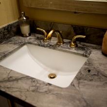 Square Granite Bathroom Sink