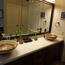 Granite Bathroom and Sink