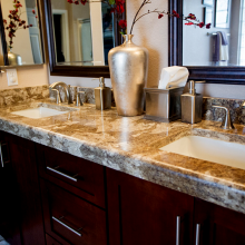 Venetian Gold Granite Countertop