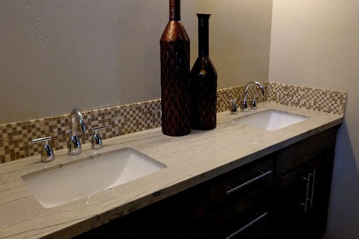 Granite Bathroom Phoenix Kitchen Premier Countertop Installers - Bathroom countertop installation