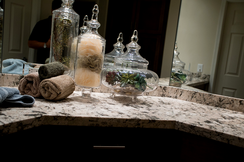 Wrap Around Granite Countertop