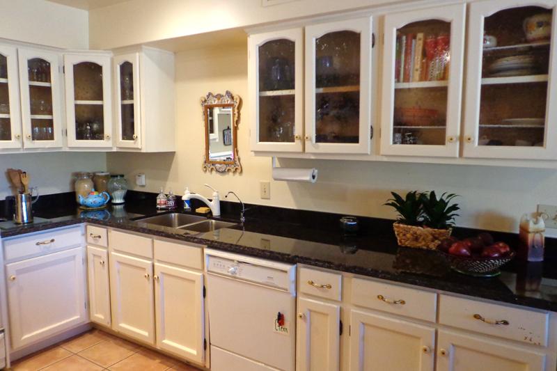 Granite Kitchen counter top black galaxy
