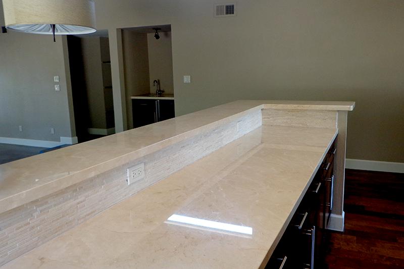 Granite counter top Kashmir White