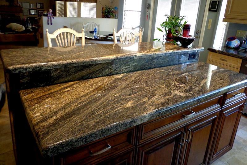 Granite counter top Juparana Fantastic
