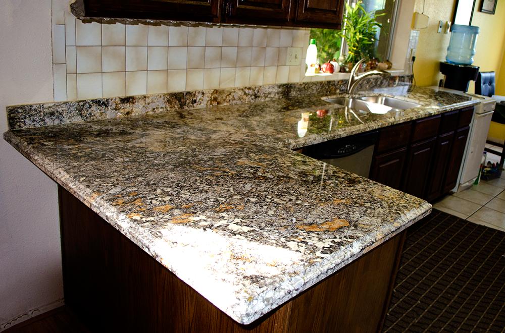 Granite counter top Tigerish AZ Granite kitchens