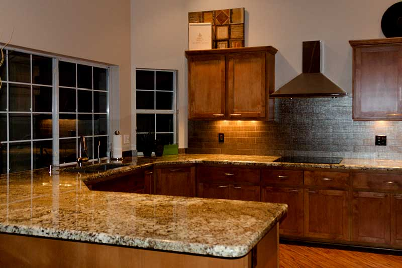 Granite counter top Mascarello u kitchen layout