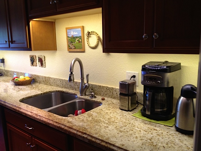 Granite counter top gallery kitchen layout