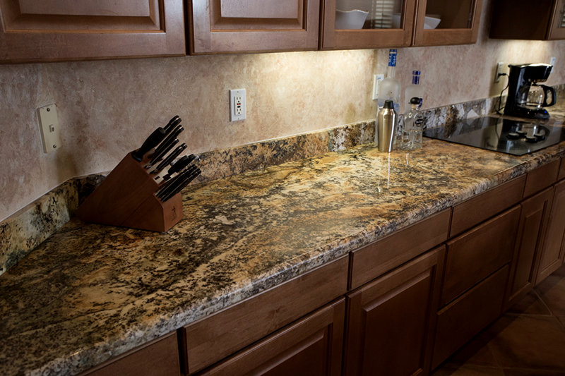Arizona Granite Solarius Kitchen countertops Phoenix AZ sample model