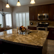 Arizona Granite Kitchen countertops Phoenix AZ center table