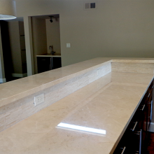 Granite counter top Kashmir White