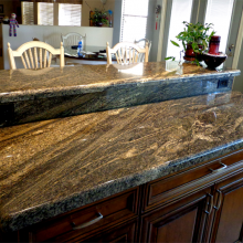 Granite counter top Juparana Fantastic