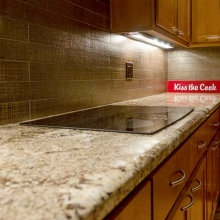 Granite counter top Taupe kiss the cook