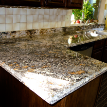 Granite counter top Tigerish AZ Granite kitchens