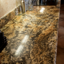 Arizona Granite Solarius Kitchen countertops Phoenix AZ a closer view