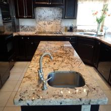 installing granite countertop