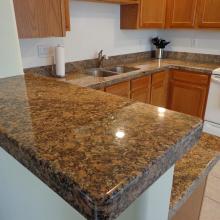 granite installed